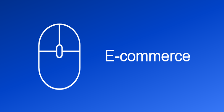 e-comm with icon